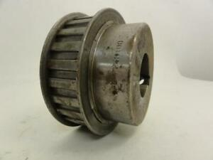 152617 Used Tpc P24h100 Timing Belt Pulley 24t 1 2 Pitch 1 3 8 Id