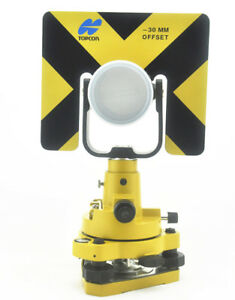 New Topcon Type Single Prism Tribrach Set System For Total Station Surveying