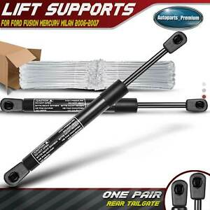 2x Rear Trunk Lift Supports Shock Struts For Ford Fusion Mercury Milan 2006 2007