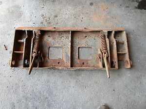 New Holland L783 Quick Attach Plate Skid Steer L785 Attachment Frame
