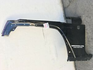 2007 2017 Jeep Wrangler Fender Left Side Oem Used Black 07 17