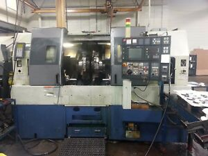 Mori Seiki Dl 151y New 1999 Dual Spindle Dual Turret Live Tools Y axis