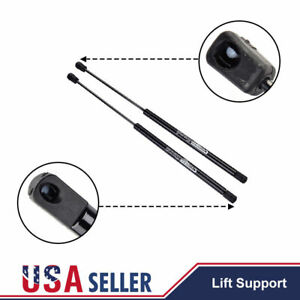 2x 4185 Rear Window Gas Lift Supports Struts Shocks For 99 06 Cadillac Chevrolet