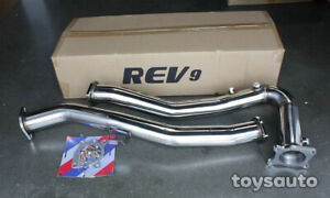 Rev9 3 Catless Downpipe Down Pipe Extra O2 For Subaru Wrx 15 18 Manual