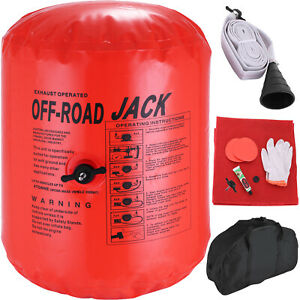 Inflatable Jack Air 4t Car Vehicle Truck Rescue Exhaust Pump Tools