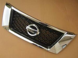 Oem 2013 2016 Nissan Pathfinder Chrome Front Grille With Emblem W o Around View