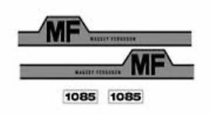 New Massey Ferguson Hood Decal Set Mf1085 W hump