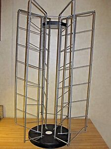 Large 26 Revolving Wire Display Rack For Craft Vendor Or Store Display sturdy