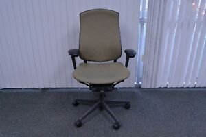 Lot Of 4 Herman Miller Celle Office Chair Fully Loaded Brown