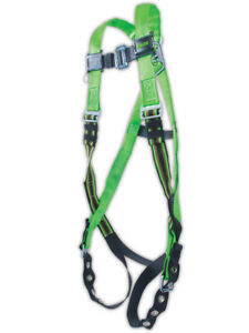 Miller Duraflex Python Pass Through Full Body Harness With D ring Each