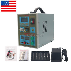 Top788h Led Dual Pulse Spot Welder 60a 18650 Battery Charger 800a 0 1 0 2mm Us