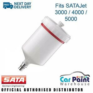 Satajet 3000 4000 5000 X 5500 B Spray Gun Replacement Cup Pot 27243 Sata