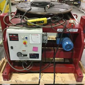 Red d arc Ah vp3 Conventional Welding Positioner Usip