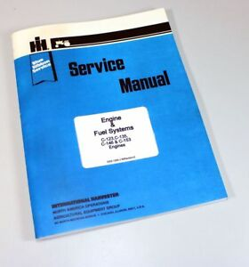 International Farmall T340 Crawler Tractor C135 Uc135 Engine Service Manual Shop
