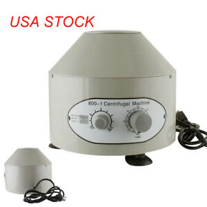 Electric Centrifuge Machine 4000rpm Lab Medical Practice Lab Equipment Us Seller