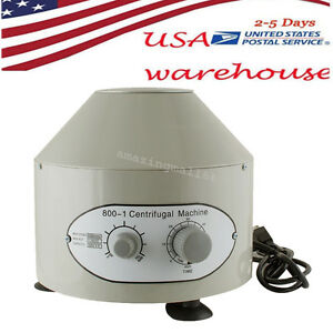 Electric Centrifuge Machine 4000rpm Lab Medical Practice 25w Lab Equipment Usa