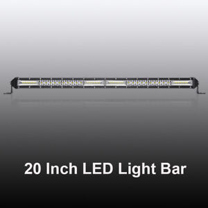 12inch 832w Led Light Bar Quad Row Spot Flood For Chevrolet Jeep Truck Gmc 4x4wd