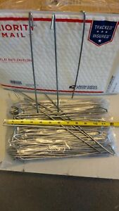 100 Bag Tie Wire Wires 10 1 2 For Chain Link Fence Master Halco 100 Pc 9 Gauge