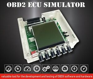 Obd ii Ecu Simulator Iso15765 Iso9141 2 Iso14230 Can Bus