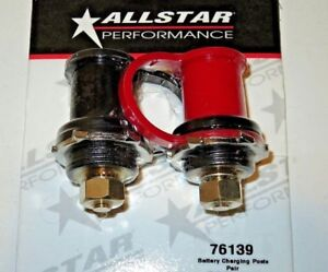 Allstar Remote Battery Terminals Charging Posts Pair Negative Positive Jumper