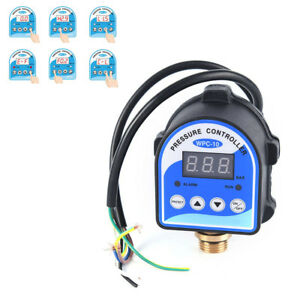 Wpc 10 Digital Water Pressure Switch Digital Display For Water Pumpevf