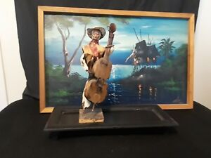 Japanese Figure With Instrument Picture Included