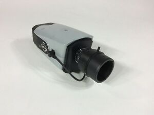 Pelco Sarix Ixe1lw Day night Ip Secrity Camera W Lens Untested