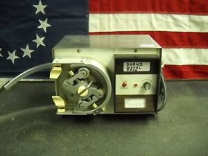 Sarns Model 5500 Peristaltic Pump