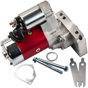 700hp Small And Big Block Starter Motor For Chevy Gm Hd Mini 3hp 305 350 454 Red