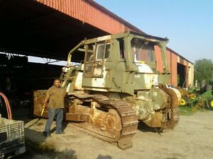 Cat Model D7f Military Dozer Working Great Super Low Hours