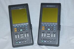 Fluke 96 Scopemeter Series 2 60mhz Fluke 105 Scopemeter Series 2 100mhz Bundle