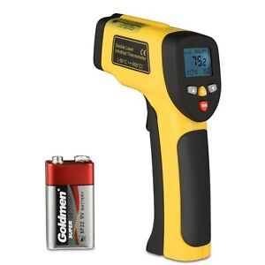 Digital Dual Laser Temperature Gun Non contact Surface Ir Infrared Thermometer