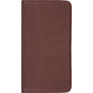 Scully Plonge Leather Blank Page Pocket Notebook Business Accessorie New