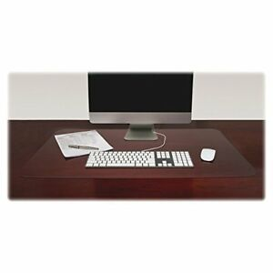 Desk Pad Rectangular Non glare 36 x20 Clear Sold As 2 Each