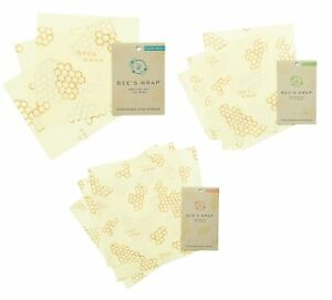 Bee s Wrap Sustainable Food Storage Large Assorted Pack Of 9 Reusable Food Wraps