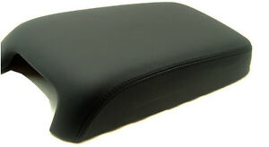 Synthetic Leather Black Center Console Lid Armrest Cover Fit 11 18 Dodge Charger