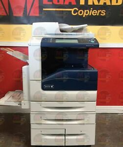 Xerox Workcentre 7845i Color A3 Laser Mfp Printer Copier Scan 4 Trays 45ppm