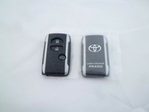 Toyota Land Cruiser Prado 150 Remote Key Shell Case Argento Cross Jdm Oem