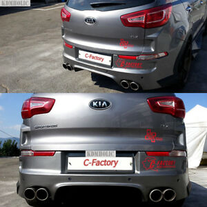 C Factory Rear Body Kit Bumper For Kia Sportage R 2011 2015