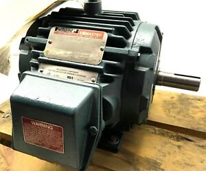 New Reliance 1hp Ac Duty Master Motor 230v 460v 3 Phase 860rpm 182t Frame