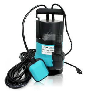 1 2hp 110v 2000gph W Float Switch 33ft Cable Submersible Sump effluent Pump