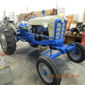 Ford Diesel Tractor Model 961 Restored 3 point
