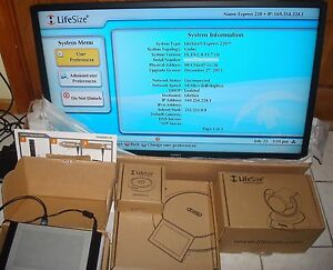Lifesize Express 220 Video Conferencing W camera 10x 2nd Gen Phone micpod remote