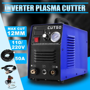 Fast Shipping Air Inverter Plasma Cutting Machine Cut50 Dual Voltage 110 220v