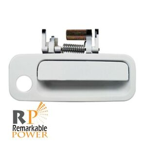 For 97 01 Toyota Camry Front Passenger Exterior Outside Door Handle Off White
