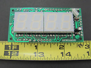 3 5 Digit Lcd Dpm Large Readout Display Martel Dpm56 nos