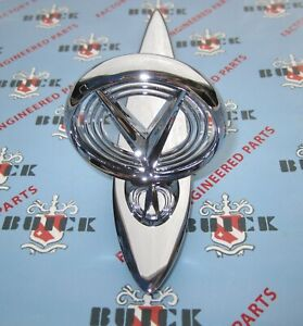 1955 Buick Hood Ornament Assembly Chrome Plated Chrome