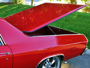 Chevy El Camino Fiberglass Hard Shell Bed Cover Tonneau Covers 1968 72 1978 1987