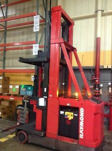 Raymond 537 csr30t Narrow Aisle Swing Reach Truck
