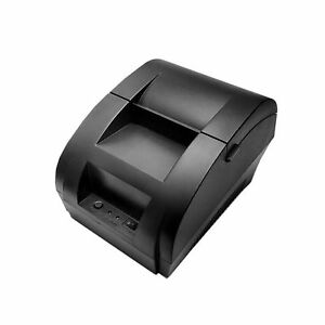 58mm Thermal Receipt Pos Printer Munbyn With Usb And Cash Drawer Port For Hom